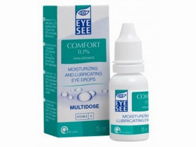 EYESEE Hyaluronate 0,1 % 15 ml.