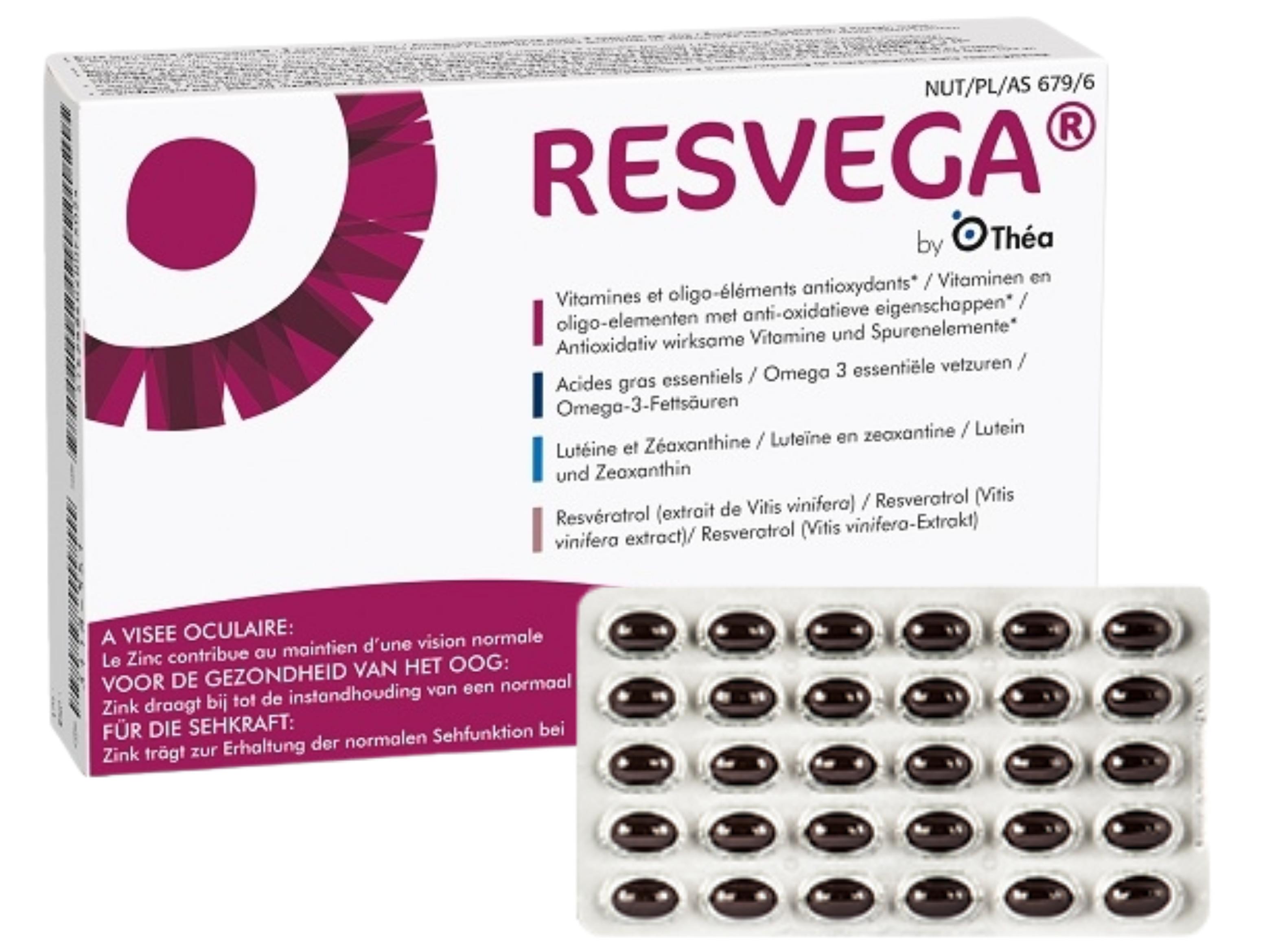 RESVEGA 60 capsules