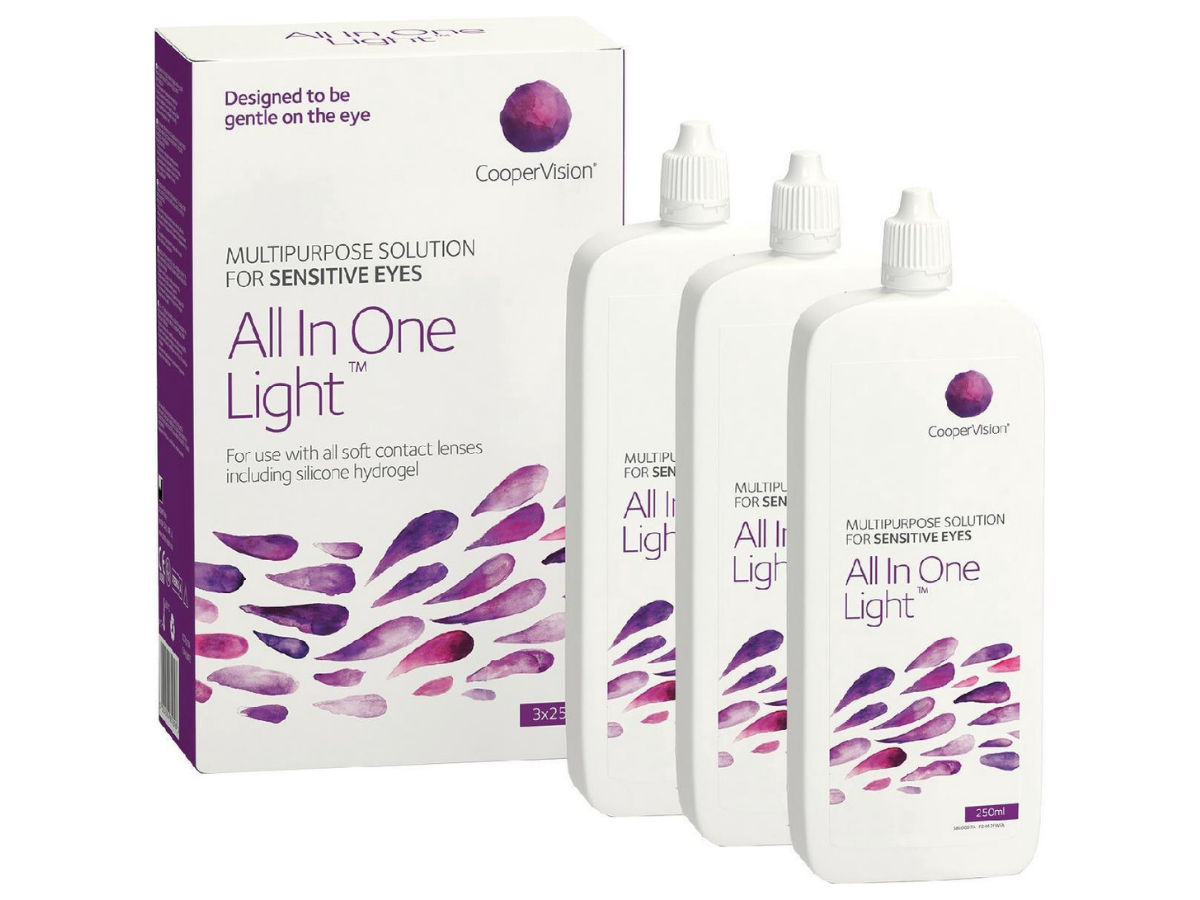 All in One Light 3x250 ml