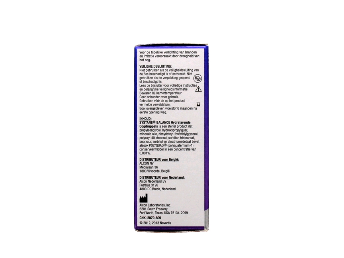 Systane Balance Hydraterende oogdruppels 10 ml.