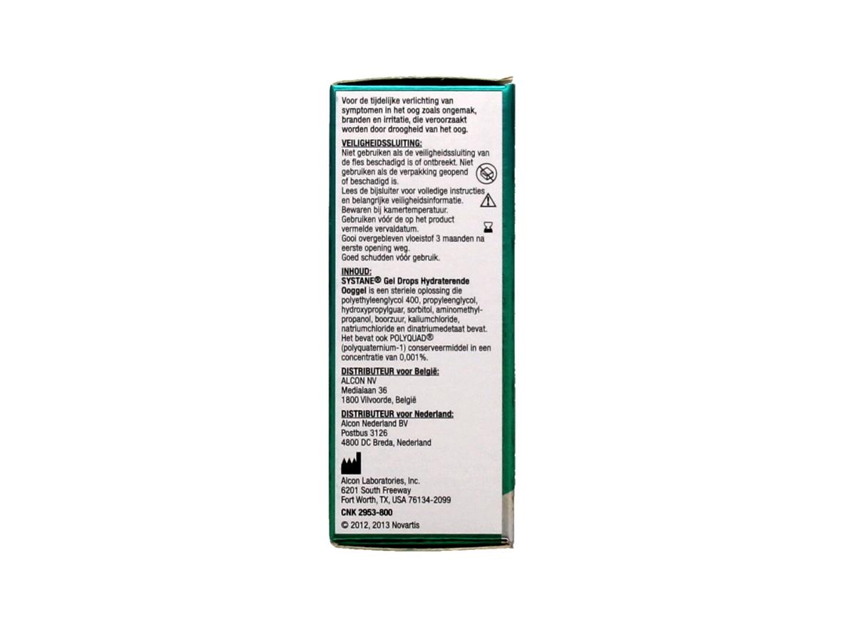 Systane Gel Drops Hydraterende ooggel 10 ml.