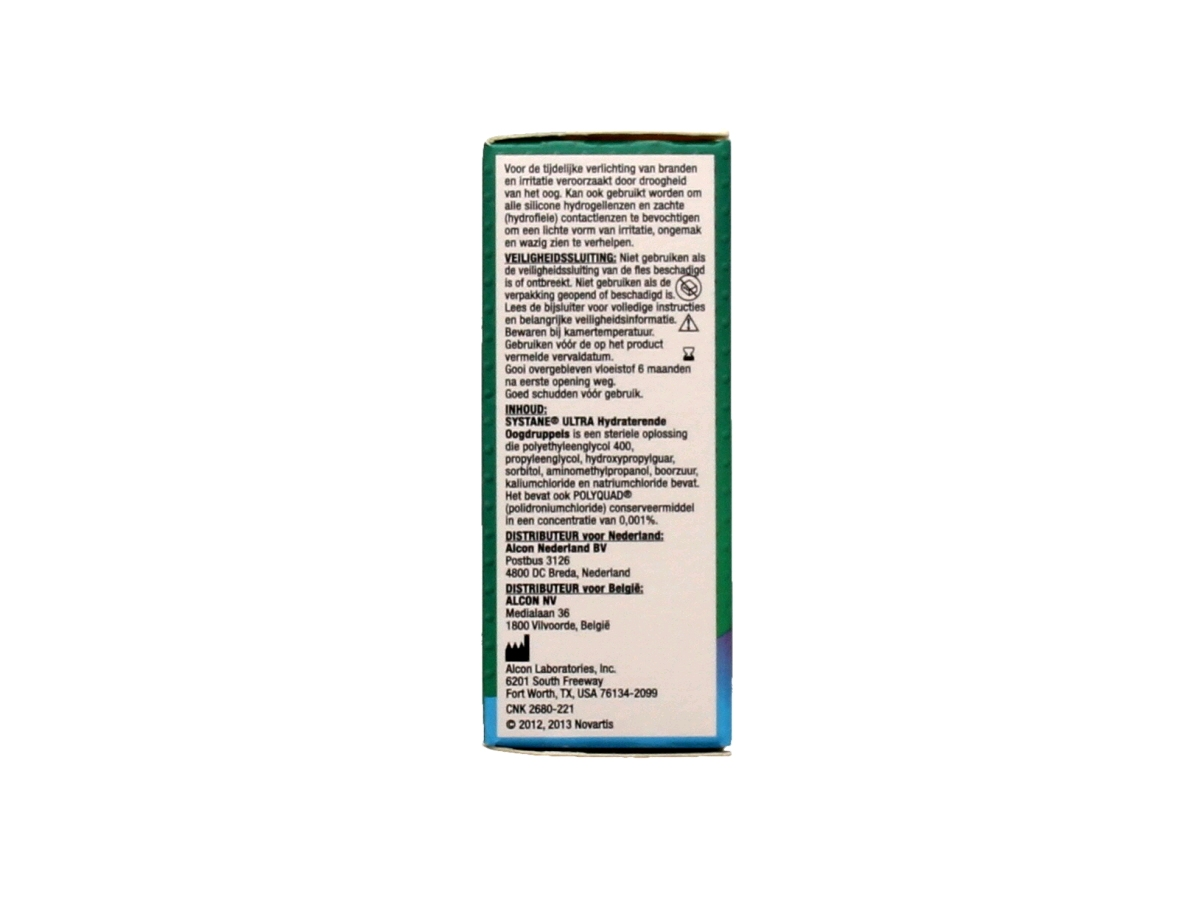 Systane Ultra hydraterende oogdruppels 10 ml.