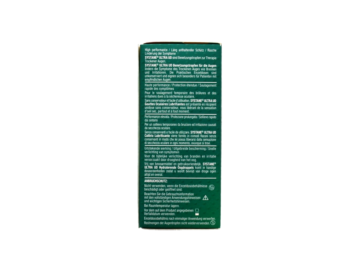 Systane Ultra UD hydraterende oogdruppels 30x0.7 ml.